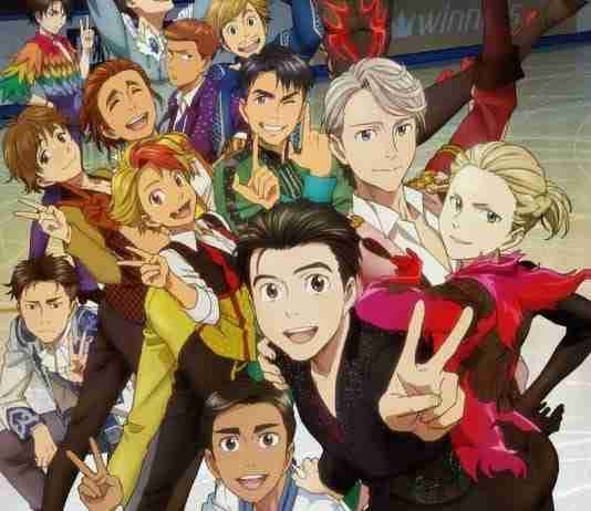 Yuri on Ice Official Art